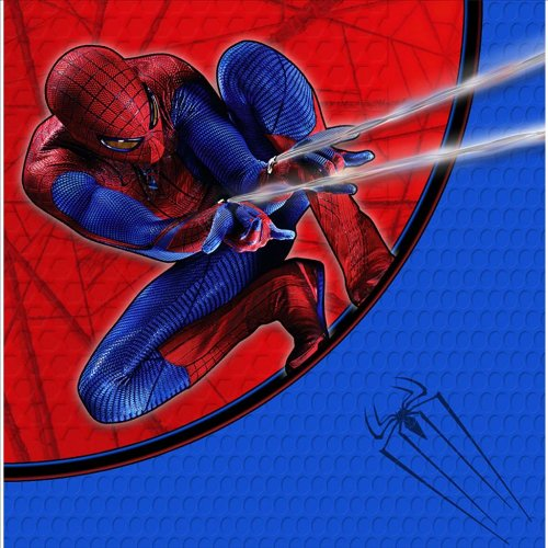 The Amazing Spider-Man 3D Lunch Napkins 16 ct