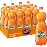 Fanta Orange Soft Drink 12 x 1.25 L