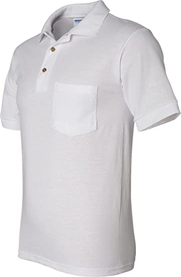 098e570f7443d Gildan 5.6 oz. Ultra Blend 50/50 Jersey Polo with Pocket