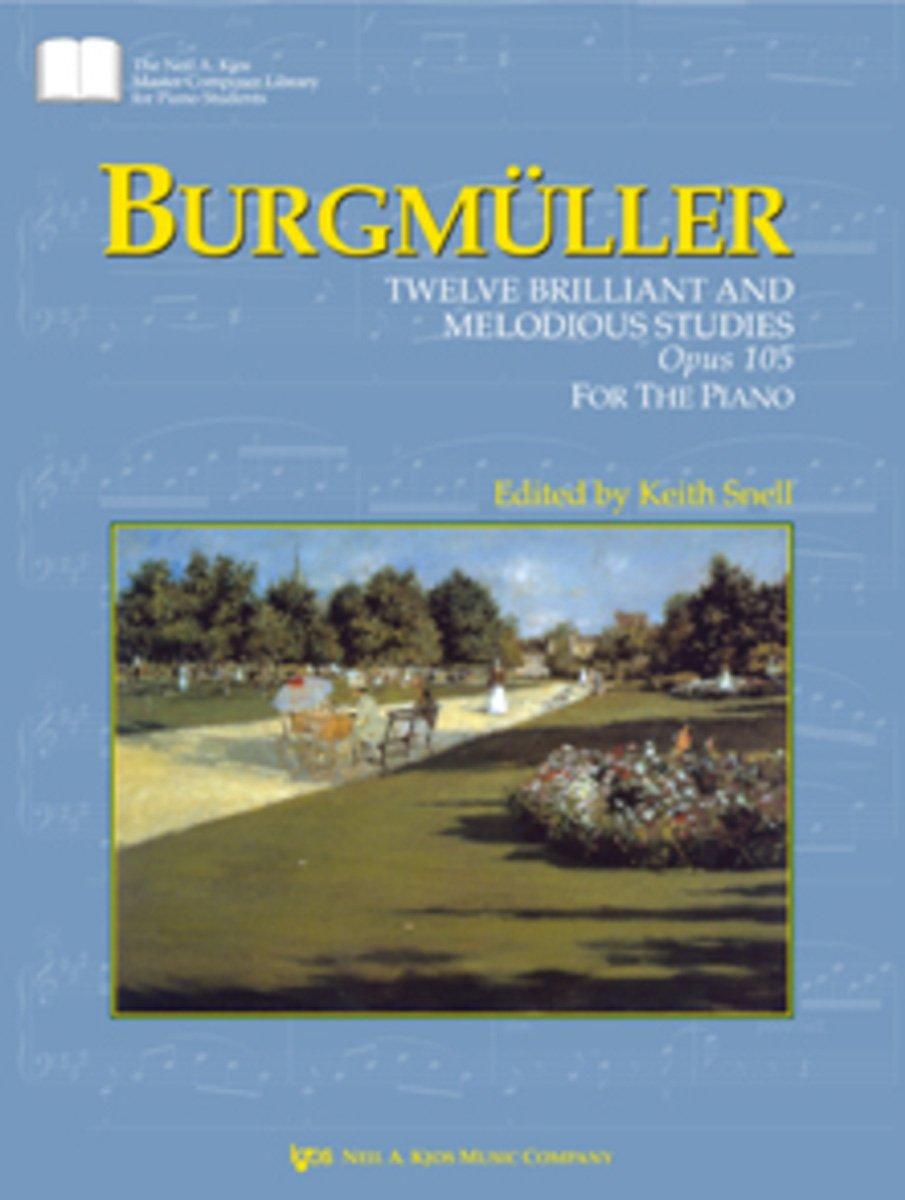 GP447 - Burgmuller : Twelve Brilliant And Melodius Studies Opus 105 For The Piano pdf