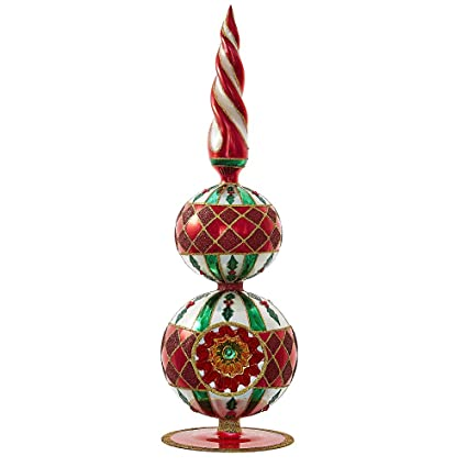 Christopher Radko Sensational Spire Finials Christmas Ornament - Amazon.com: Christopher Radko Sensational Spire Finials Christmas