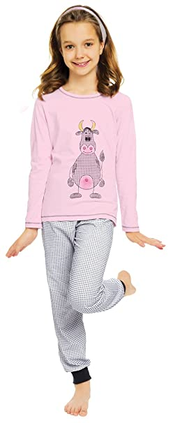 Italian Fashion IF Pijamas para Niña Raspberry 0223 (Rosa, 86)