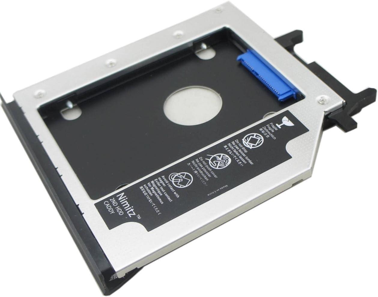 2nd HDD disco duro SSD Nimitz luxtons para Lenovo Ideapad Y500 ...