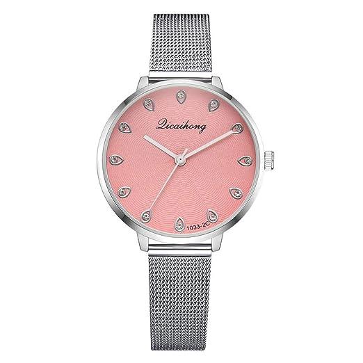 VEHOME Cuero clásico - Ms. Reloj de cuarzo-XR3130-Relojes Inteligentes relojero Reloj reloje de Pulsera Marcas Deportivos: Amazon.es: Relojes