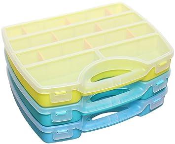 Organizer Sortimentskasten Sortierbox Schraubenbox Kleinteilemagazin Kunststoff