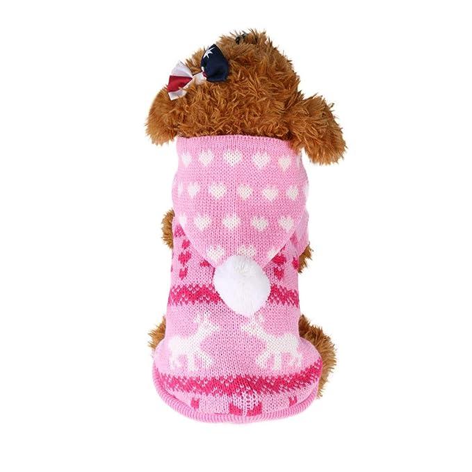 Amazon.com: Sudadera para mascotas, ropa para perro pequeño ...