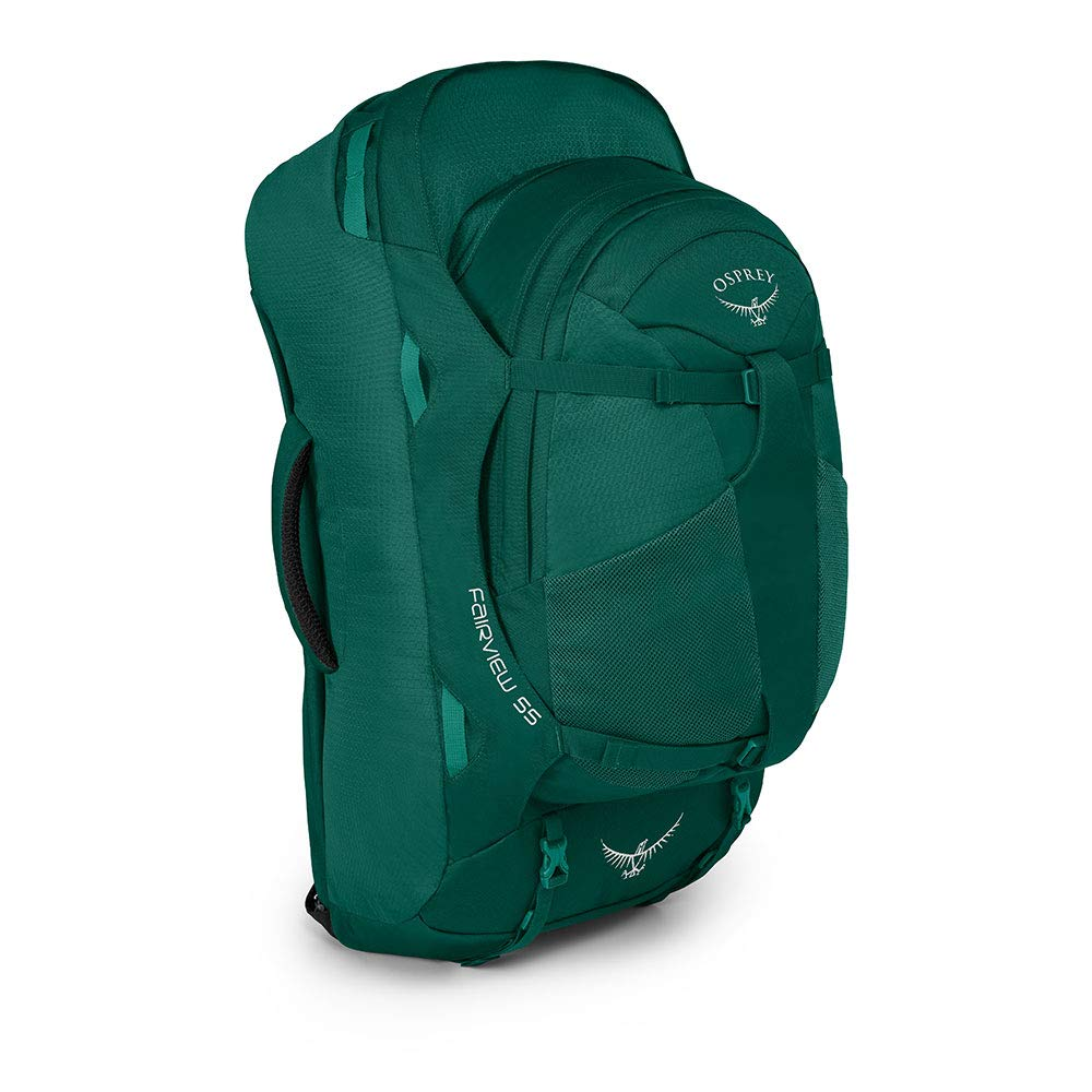 Osprey Fairview 55 Womens Travel Pack with 13L Detachable Daypack - Rainforest Green (WS/WM): Amazon.es: Deportes y aire libre