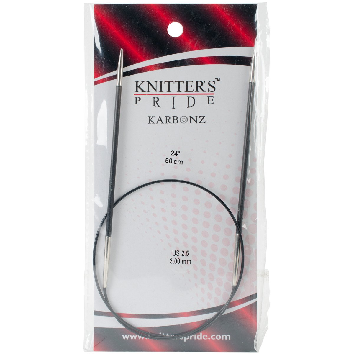 Knitter/'s Pride 10 US 24 in :Karbonz Circular Needles:
