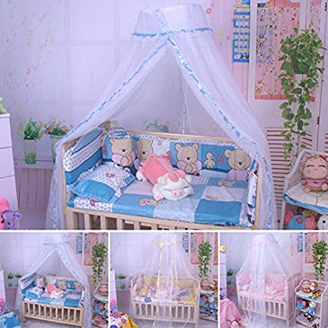 MAZIMARK--Mosquito Net Canopy Insect Baby Kids Bed Netting Mesh Drape Canopies Bug Cover  sc 1 st  Amazon.com & Amazon.com: MAZIMARK--Mosquito Net Canopy Insect Baby Kids Bed ...