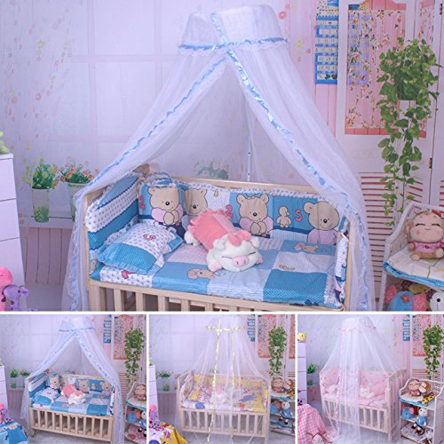 MAZIMARK--Mosquito Net Canopy Insect Baby Kids Bed Netting Mesh Drape Canopies Bug - Outlet Canada Mk