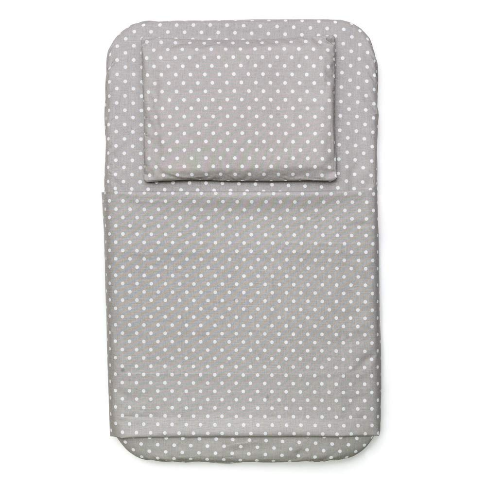 White//Blue FYLO 4X Fitted Sheets Compatible with Chicco Next 2 Me 100/% Cotton