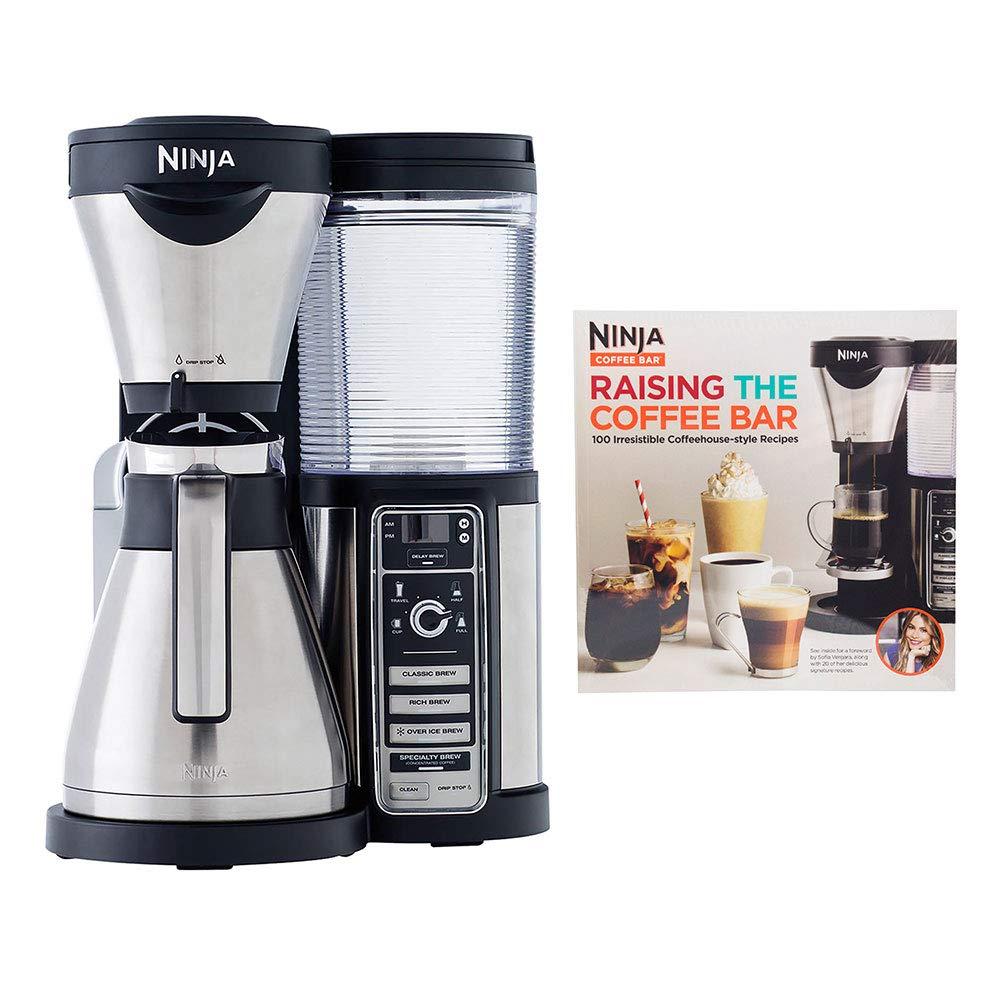 Amazon.com: Ninja Coffee Bar Drink Machine with 100 Recipe ...