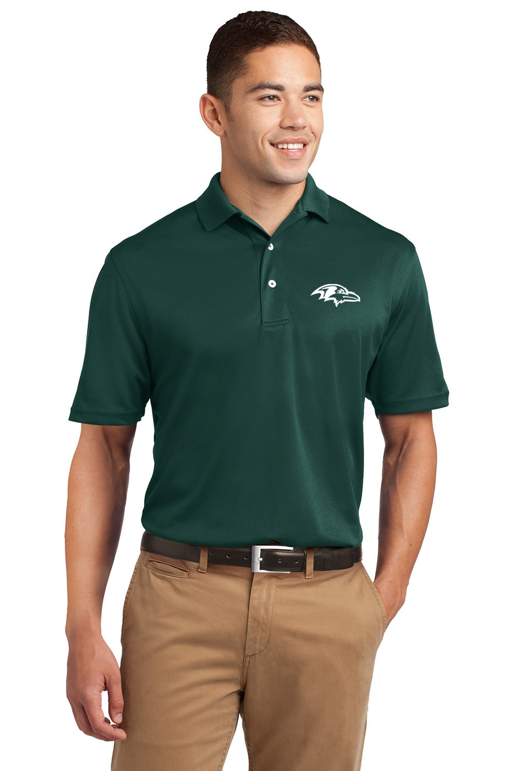Sport-Tek Dri-Mesh Men's Polo Shirt- 6 Qty - Promotional Product - Imprinted With Your Company Name, Logo or Message by Promo Direct