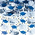 Blue Mixed Grad Confetti