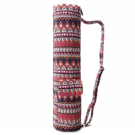 Completo Zip Ejercicio Yoga Mat Sling Bag La estera de la ...