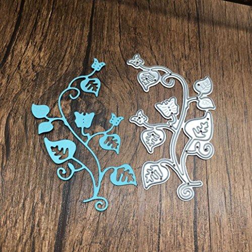 Die Cuts,Lookatool Metal Cutting Dies Stencils DIY Scrapbooking Photo Album Paper Card Gift LDM-368 -