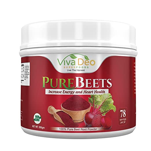 Product thumbnail for PureBeets 100% Organic Pure Beet Root Powder