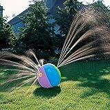 CBC Toys Splish Splash Water Spray Sprinkler Ball (Inflatable Beach Ball Shape) Lawn Sprinkler Toy