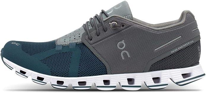 ON Cloud - Zapatillas de running para mujer, Mujer, 99887 Grey Storm, 40.5 EU: Amazon.es: Zapatos y complementos
