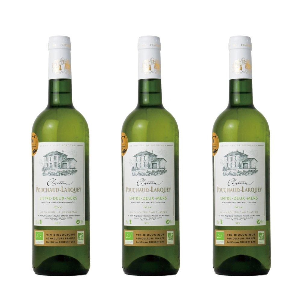 ボルドー(アントル ドゥー メール) 白3本セット【お買い得 オーガニック】 ドゥー メール) オーガニック ワイン B075F26NRF, きれいプラザ:25fb506f --- yogabeach.store
