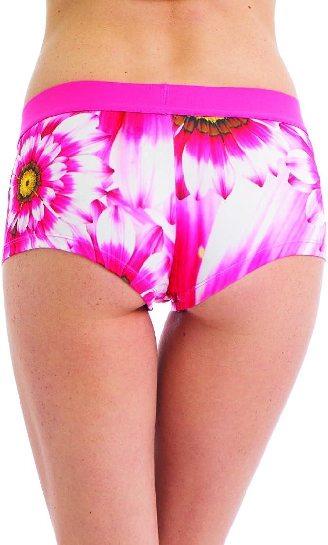 Joe Boxer Womens Sunflower Boy Short Boy Shorts