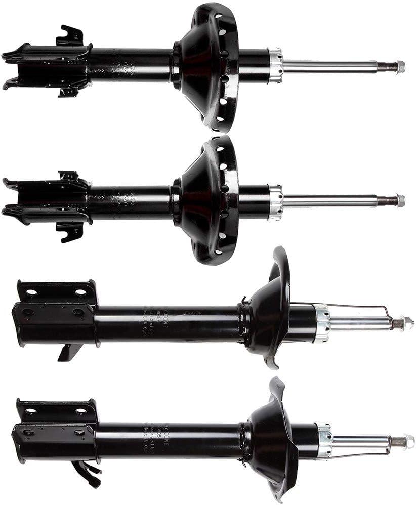 cciyu 2 x Rear Struts Shock Absorbers Fit for 2006 2007 2008 Subaru Forester 339149 72445 339150 72446