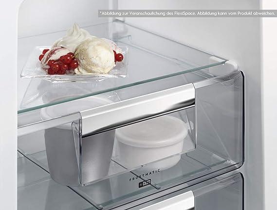 Aeg Kühlschrank Rdb51811aw : Aeg sce ls einbau kühl gefrier kombination mit gefrierteil