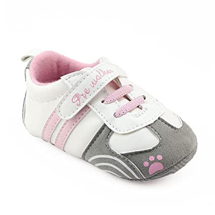 aecef9c1f53 Baby Sneakers Girls,Amiley Infant Toddler Baby Girls Boys Letter Outdoor  Lightweight Soft Sole Shoes