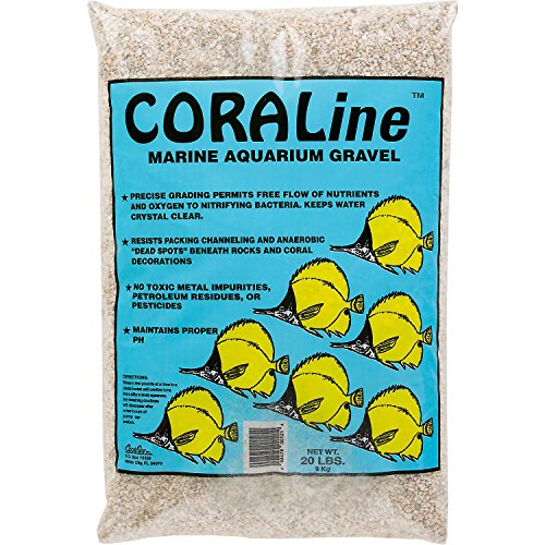 Carib Sea Coraline Aquarium Gravel, 20 lbs.