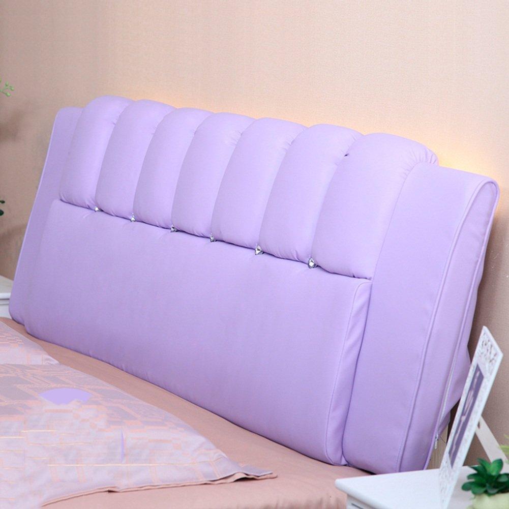 QIANGDA クッション ベッドの背もたれ ヘッドボード バッククッション PUパッド アンチコリジョンヘッド 取り外し可能な ダブル ベッドルーム ソリッドカラーの10種類、 4サイズ オプション ( 色 : 太郎の色 , サイズ さいず : 150 x 8 x 60cm ) B07B2Q969F 150 x 8 x 60cm|太郎の色 太郎の色 150 x 8 x 60cm