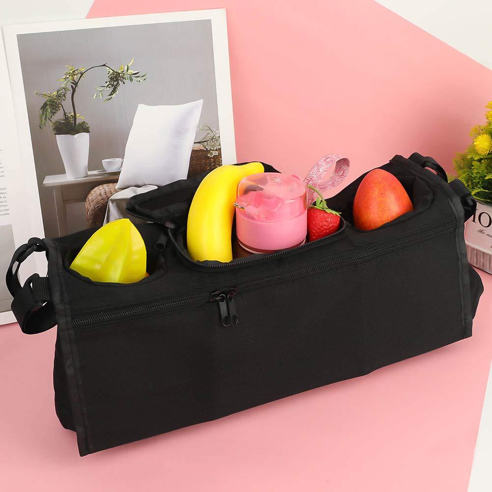 Bolsa para Colgar Carrito de beb/é vaMtWYiD Bolsa para Colgar Bandeja de Consola Segura Silla de Paseo Soporte Organizador para Vasos