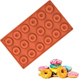 18 Grids Mini Doughnut Mold Round Buscuit And Cake Mold For DIY Baking (18 Grids)