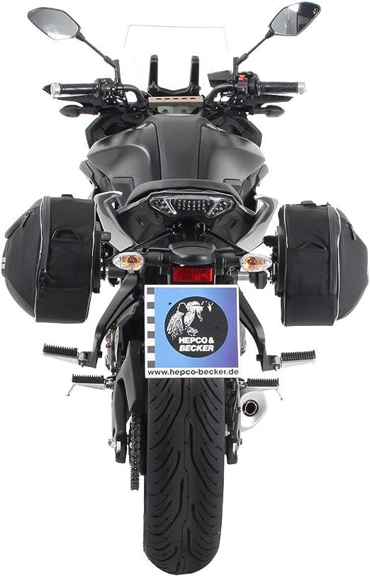 Tracer 700 GT 2016- schwarz f/ür Yamaha Tracer 700 Hepco/&Becker C-Bow Seitentr/äger