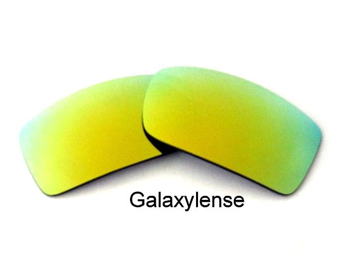 Lentes De Repuesto Para Oakley Gascan Oro Color Polarizados (Oro)