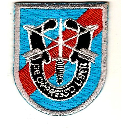 - 20th Special Forces Group Airborne Flash Patch With Crest