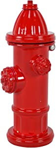 TG,LLC Treasure Gurus Red Fire Hydrant Miniature Die Cast Pencil Sharpener Firefighter Gift