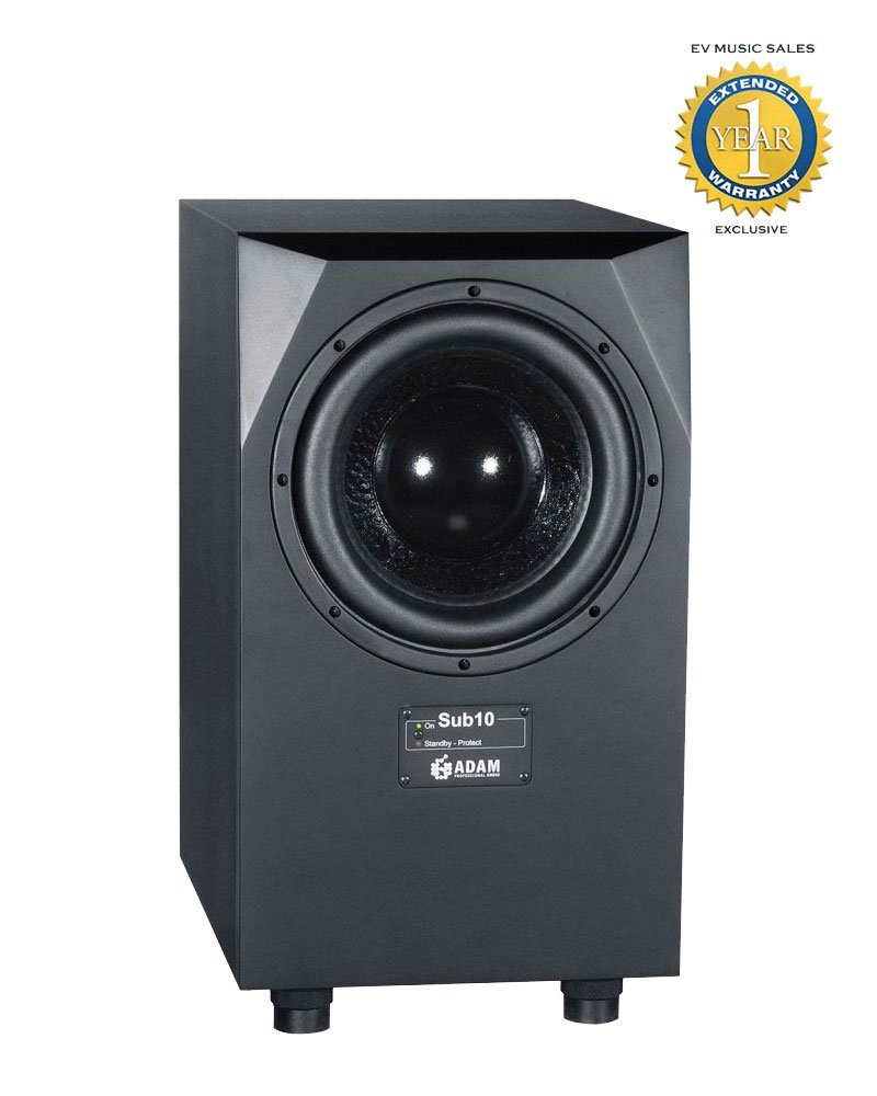 Adam Audio Sub10 MK2 200W 10'' Active Subwoofer with 1 Year Free Extended Warranty