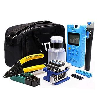 FTTH Fiber Optic Tool Kit Assembly Fiber Termination Tool Optical Power Meter