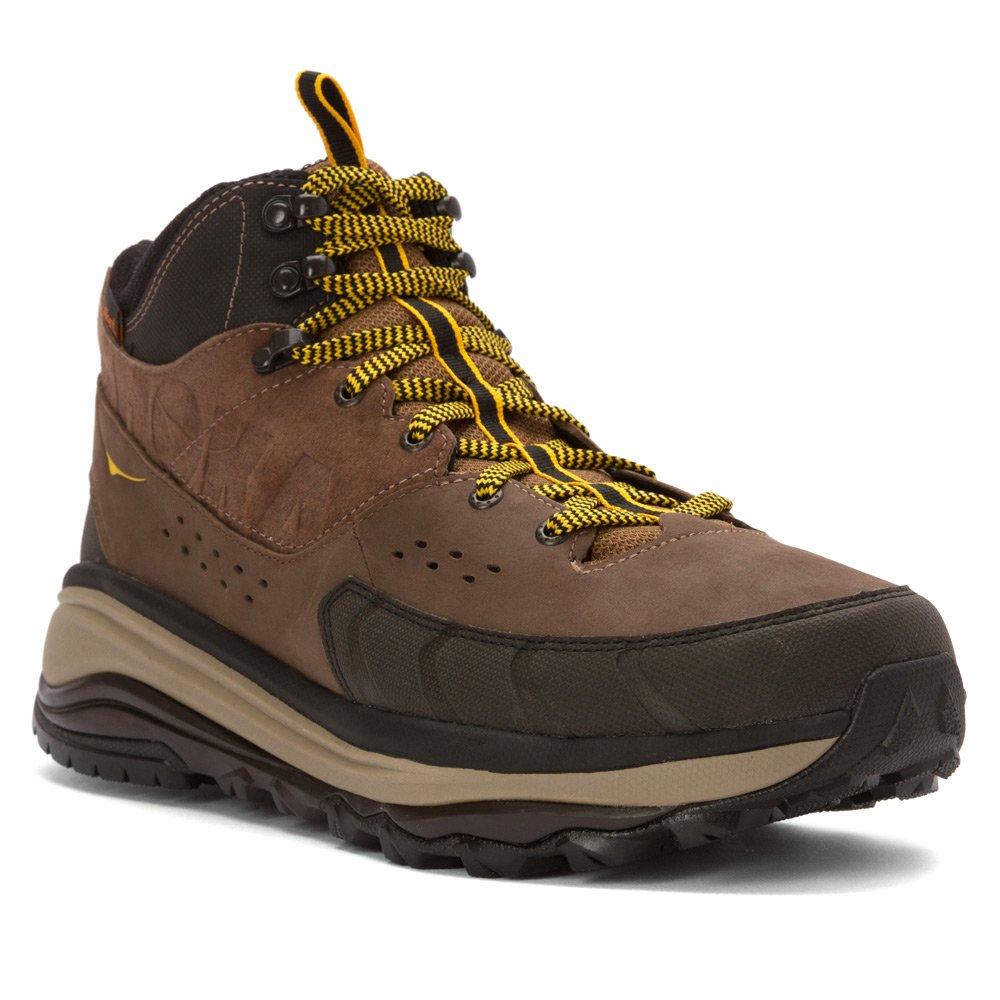 1008982-BGDR Hoka One One Men's Tor Summit Mid Hiking Shoes - Brown