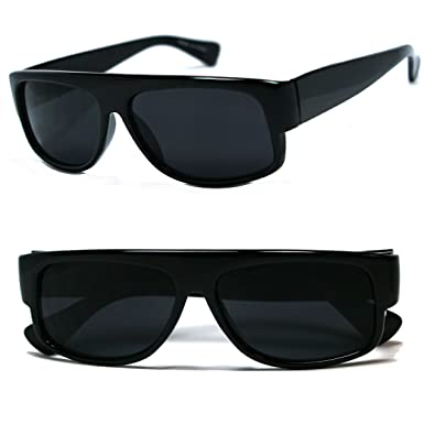 black shades glasses  Amazon.com: Original OG Mad Dogger Locs Shades Sunglasses w/ Super ...
