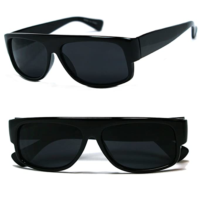 ray ban style sunglasses xvqt  Amazoncom: Original OG Mad Dogger Locs Shades Sunglasses w/ Super Dark  Lens Black: Clothing