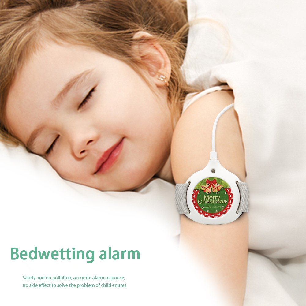 MoDo-king Bedwetting Alarm with Vibration & Sound & Light Most Effective to Cure boys and girls Bed Wetting Enuresis Sensors