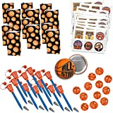 Basketball Party Favors Basketball Birthday Party Basketball Team Party Favors 109 Piece Bundle for 12
