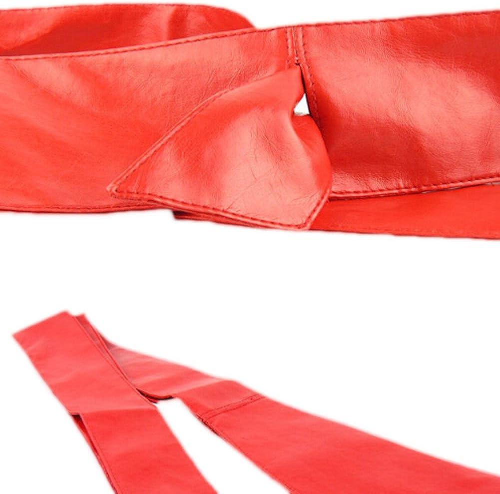 Women Leather Soft Self Tie...