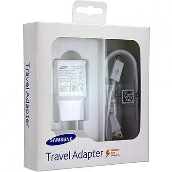 TPC - Cargador Original Samsung EP-TA20EWE Carga Rápida para ...