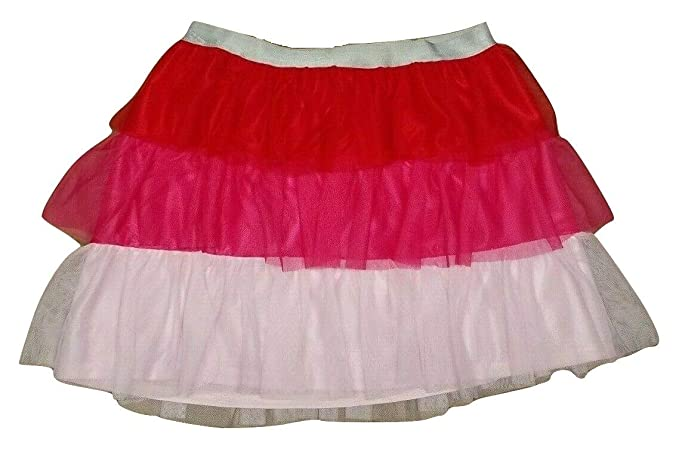 Buy Celebrate Big Girl S Pink Mesh Three Tier Ruffle Tutu Skirt 2xl 18 At Amazon In