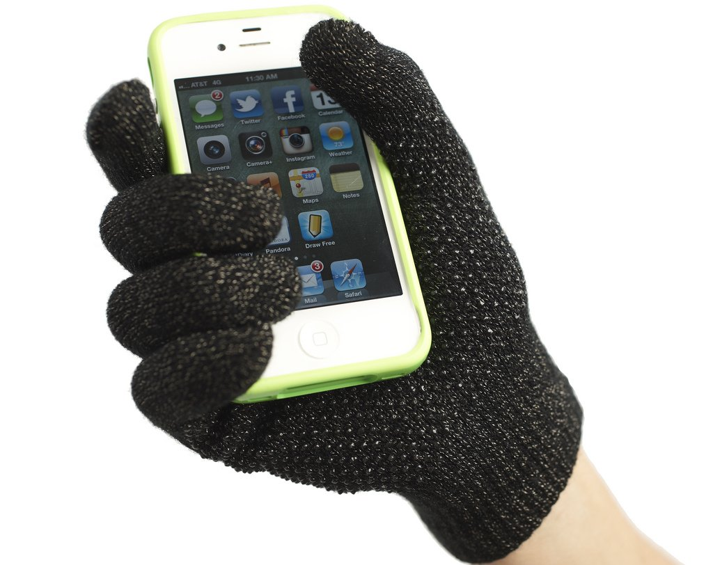 Mens gloves for smartphones - Amazon Com Agloves Grip Touchscreen Gloves For Iphones Tablets And Much More Cell Phones Accessories