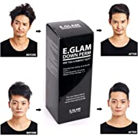 by E.Glam E.glam Down Perm for Men Speedy Easy Magic Straight Perm Home Kit 120ml