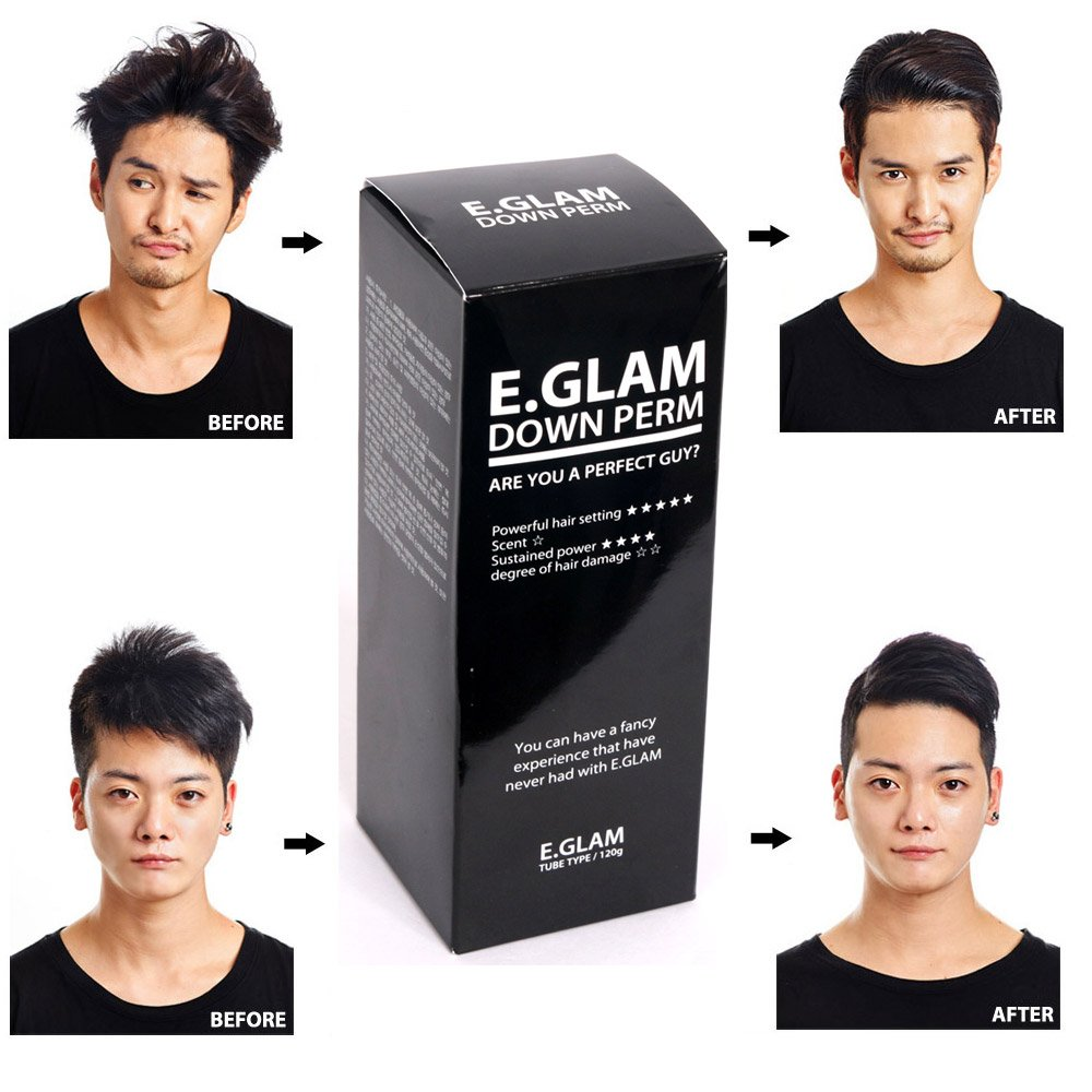 Amazon Com The Flower Men Hair Coating Straight Cream Beauty