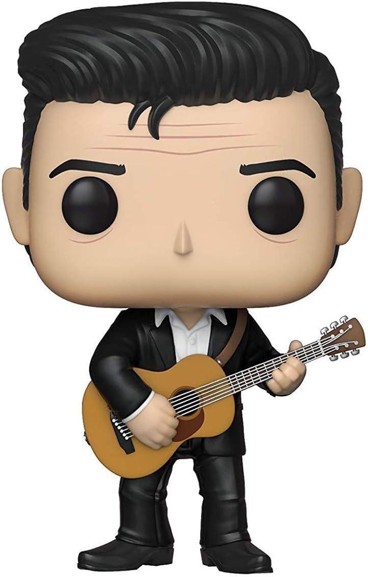 Funko- Pop Vinilo Johnny Cash Figura Coleccionable, Multicolor, Estándar (39524)